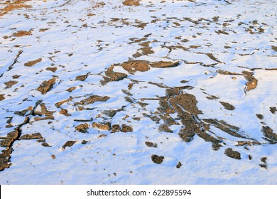 permafrost in the snow