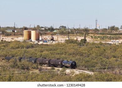 Permian Basin oil production.