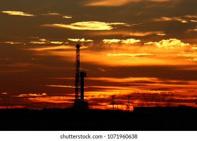 Permian Basin sunset