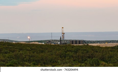 Permian Drilling Rig On The Horizon