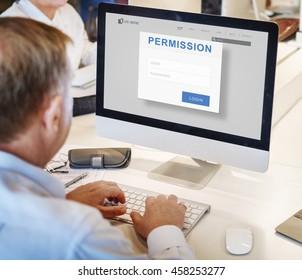 Permission Authorization Accessible Security Concept