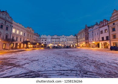 Pernstynske Square in Pardubice. Pardubice, Bohemia, Czech Republic.