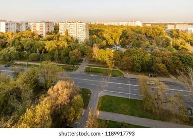 Perovo District is an administrative raion of Eastern Administrative Okrug of Moscow, Russia. Perovskiy Park is located in between Lazo, Kuskovskaya, Perovskaya and Korennaya streets.
