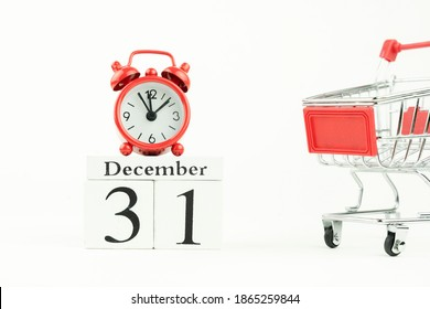 perpetual calendar for December 31. new year, the concept of buy
