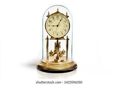 Perpetual clock under a glass dome