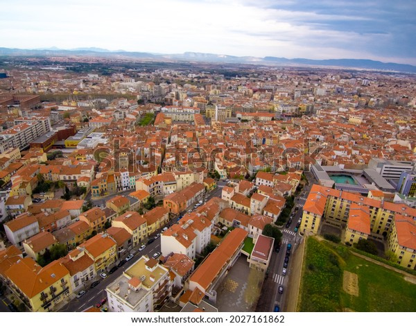 Perpignan. Aerial view of  city. France.Europe