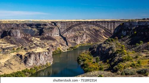 The Perrine Bridge Images Stock Photos Vectors Shutterstock