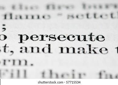 persecute