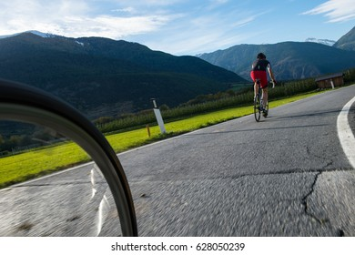Persecution road racer - cycling comptetition