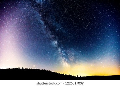 Perseid meteor shower 2018.