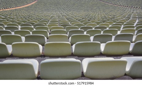 persepctive seats in soccer stadium