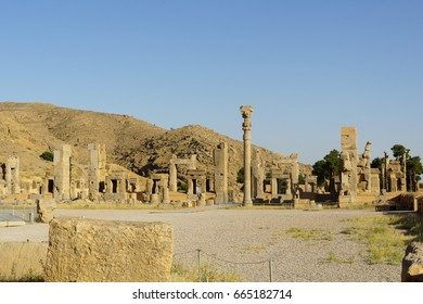 persepolis ancient city shiraz iran