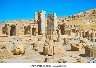 Persepolis archaeological site is the best place to discover ancient architecture and art of Persia, Iran.