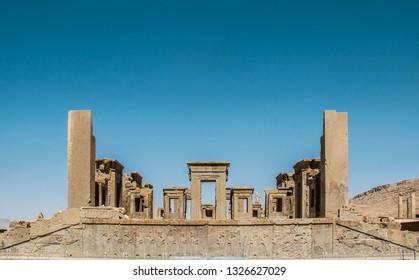 Persepolis, the capital of Achaemenid and Cyrus in Shiraz,Persia, Iran