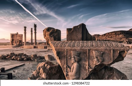 Persepolis (Old Persian: Pārsa) was the ceremonial capital of the Achaemenid Empire (ca. 550–330 BCE). It is situated 60 km northeast of the city of Shiraz in Fars Province, Iran.