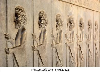 Persepolis (UNESCO World heritage sites), ceremonial capital of the Acheamenid Empire, ancient Persian city. Iran