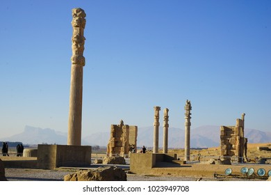 Persepolis, whose magnificent ruins rest at the foot of Kuh-e Rahmat (Mountain of Mercy) in south-western Iran, is among the world's greatest archaeological sites.