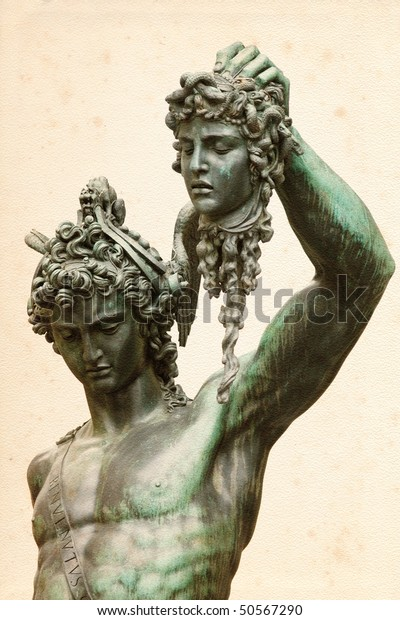 Perseus Head Medusa By Benvenuto Cellini Stock Photo Edit