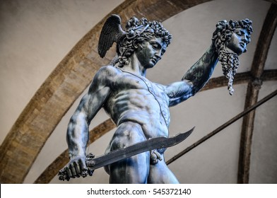 perseus and medusa in florence