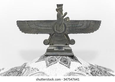 Persian Farvahar (elevated)