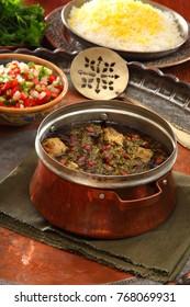persian food khoresh ghormeh sabzi