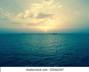 Persian Gulf sunset