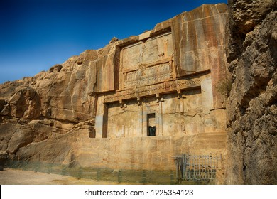 Persian royal tombs, Persepolis, Iran
