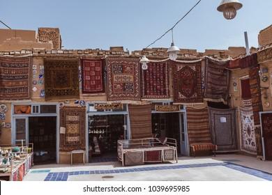 Persian rugs in Yazd Iran