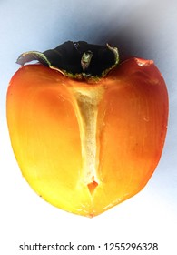 persimmon in section