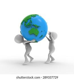 The person earth
