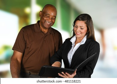Person in need having a financial counseling session