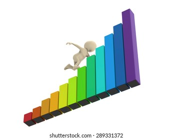 Person stairs graph