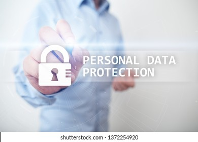 Personal data protection, Cyber security and information privacy. GDPR.