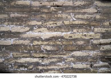 Personal Graffiti on ancient Roman Wall