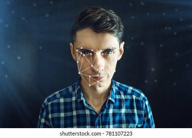 Personal identification method for face recognition via the polygon mesh. The concept of modern technology