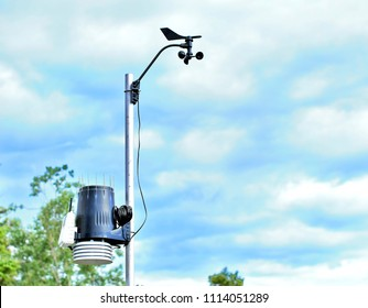Personal Meteorological weather station - Shutterstock ID 1114051289