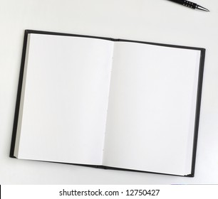 Personal planner with blank pages