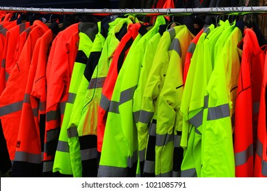 personal protective equipment and rain jackets