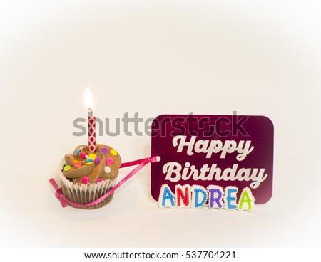 Personalized Happy Birthday Andrea