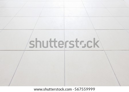 Perspective Floor Tiles White Vignette Can Stock Photo Edit Now