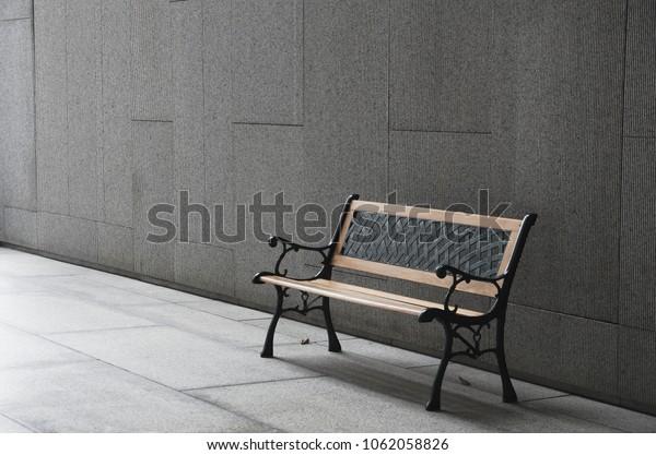 Astonishing Perspective Outdoor Bench Open Empty Space Stock Photo Edit Uwap Interior Chair Design Uwaporg