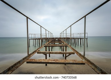 Perspective of the pier