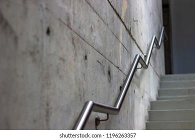 Perspective Shoot Of Metal Stair Holder Clean