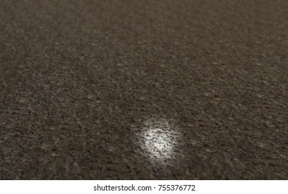 Perspective Stone Texture 3D Illustration, Grunge Background