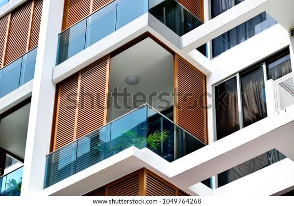 Modern Wooden Balcony 5