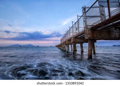 The Pertamina Jetty is a name suggest, a jetty for the Pertamina oil storage terminal in Dili, Timor Leste.