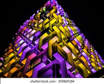 Perth Architecture - Lights