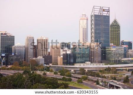 Perth Australia April 9 2017 Regional Stock Photo (Edit Now