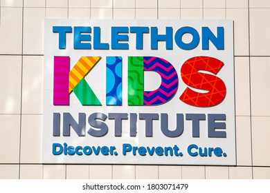 Perth, Australia - August 23rd 2020: Telethon Kid's Institute at Perth's Children's Hospital