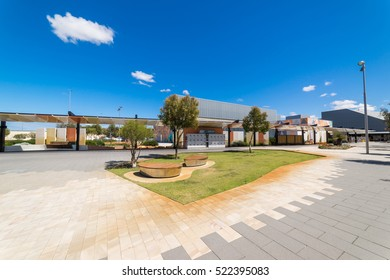 PERTH, AUSTRALIA - November 11, 2016 : Garden of  Perth Airport , Western Australia.